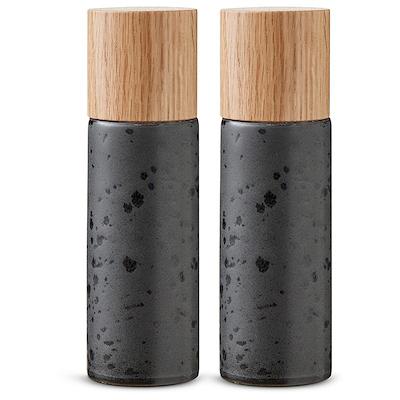Bitz salt- og peberkværn sort 17 cm