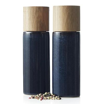 Bitz salt- og peberkværn blå 17 cm