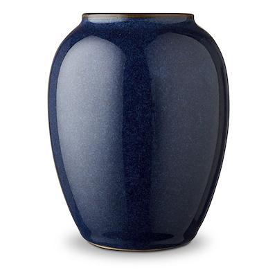 Bitz vase blå 12,5 cm