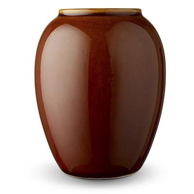 Bitz vase amber 12,5 cm