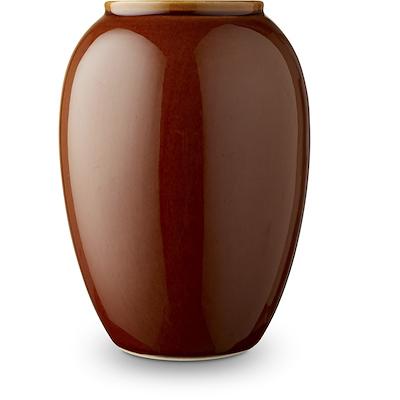 Bitz vase amber 20 cm