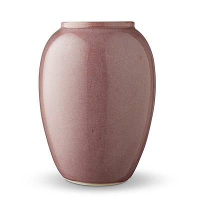 Bitz vase lyserød 20 cm