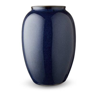 Bitz vase blå 25 cm