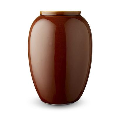 Bitz vase amber 25 cm