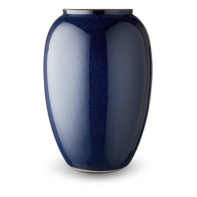 Bitz vase blå 50 cm
