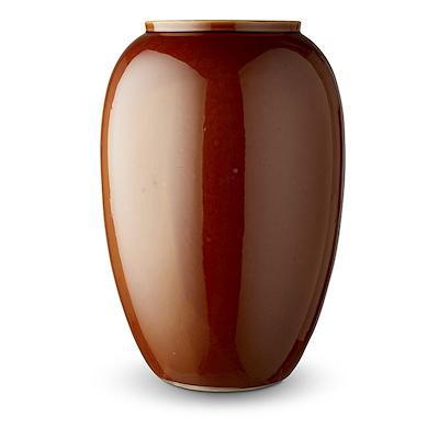 Bitz vase amber 50 cm