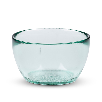 Bitz Kusintha skål glas grøn 12 cm