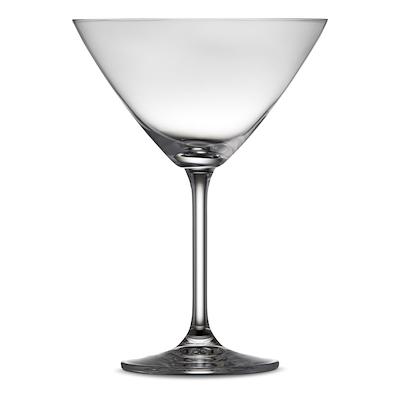 Lyngby Glas juvel martiniglas 28 cl 4 stk.