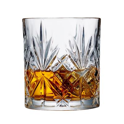 Lyngby Glas Melodia whiskyglas 6 stk. 31 cl