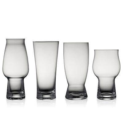 Lyngby Glas ølglas 4 stk. assorteret