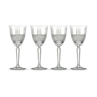 Lyngby Glas Brillante hvidvinsglas 4 stk. 23 cl