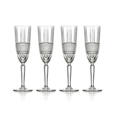Lyngby Glas Brillante champagne 4 stk. 19 cl
