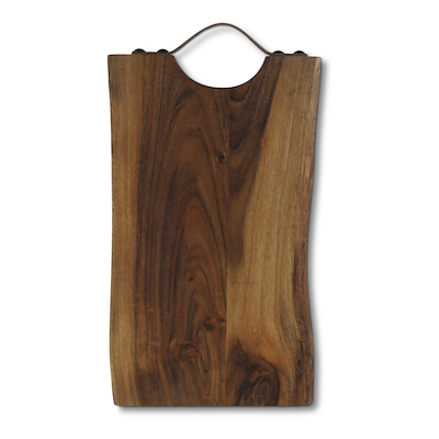 Skærebræt 20x38 cm akacie træ