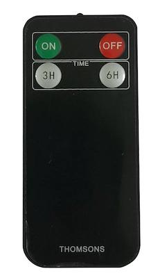 Thomsons LED fakkel Classic med fjernbetjening