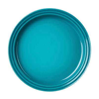 Le Creuset tallerken 18 cm carribean blå