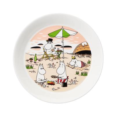 Mumi by Arabia tallerken Sammen 19 cm