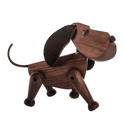 Architectmade træhund Bobby