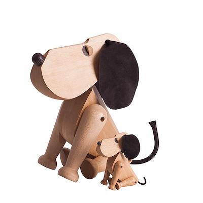 Architectmade træhund Rufus 45 cm