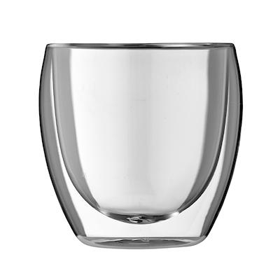 Bodum Pavina dobbeltvægget glas 25 cl. 6 stk.