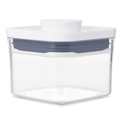 OXO Pop opbevaringsboks 0,4 liter kvadratisk