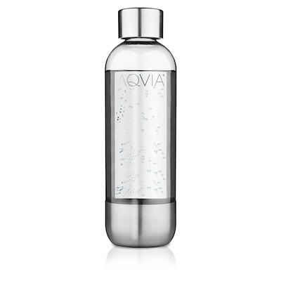 Aqvia flaske pet stål 1 L