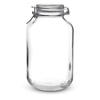 Bormioli Henkogningsglas 3,0 liter firkantet glas