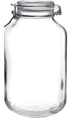 Bormioli sylteglas 4 liter rund