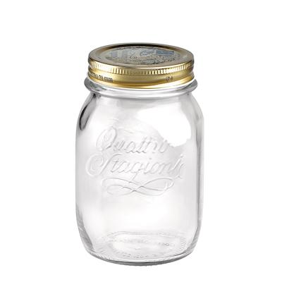 Bormioli geleglas med låg 0,5 liter