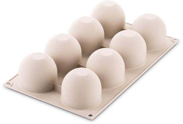 Silikomart flødebolle silikoneform 8 stk