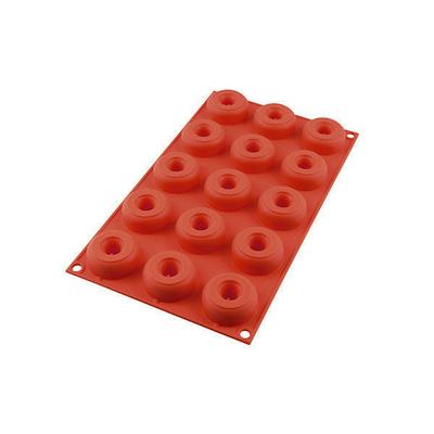 Silikomart mini donut silikoneform 15 stk