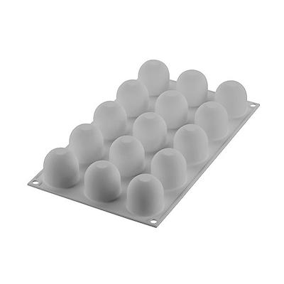 Silikomart mini flødebolle silikoneform 15 stk