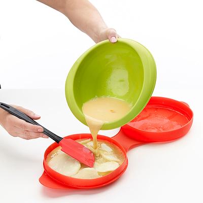 Lékué stor omeletform til microovn