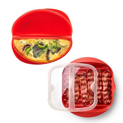 Lékué bacon maker + omeletform