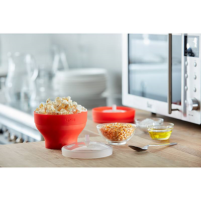 Lekue mini popcorn maker 2 stk til mikroovn