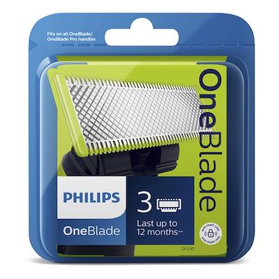 Philips Oneblade blade 3 stk pk
