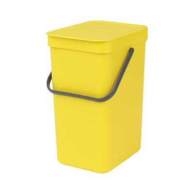 Brabantia sortering affaldsspand 12 liter gul