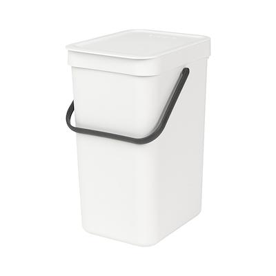 Brabantia sortering affaldsspand 12 liter hvid