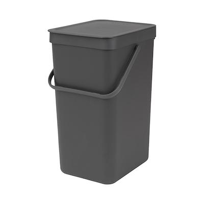 Brabantia sortering affaldsspand 16 liter grå
