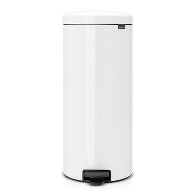 Brabantia newicon pedalspand 30 liter hvid