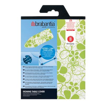 Brabantia strygebetræk 124x38 cm hvid
