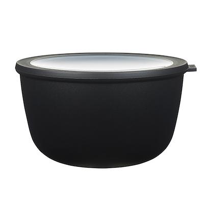 Mepal Cirqula skål med låg 3000 ml sort