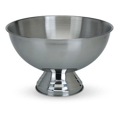 Champagne bowle på fod, rustfri stål 39 stål