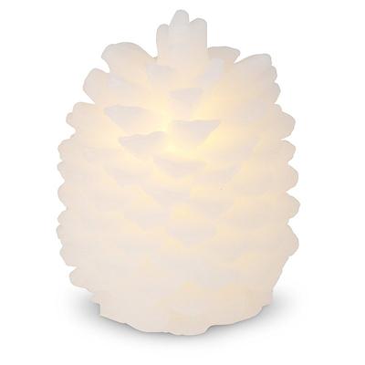 LED kogle vokslys 16 cm