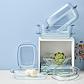 Ovnfast glasfad med låg 7 liter 34x22 cm