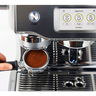 SAGE The Oracle Touch espressomaskine stål SES 990 BSS