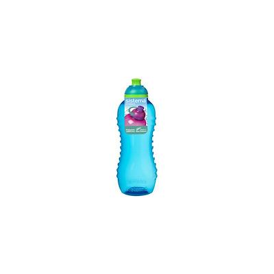 Sistema twist 'n' sip bottle blå 460 ml