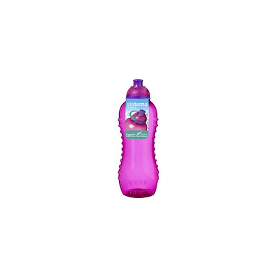 Sistema twist 'n' sip bottle pink 460 ml