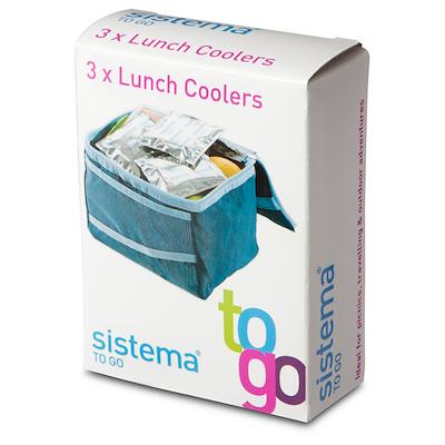 Sistema lunch cooler 3 stk